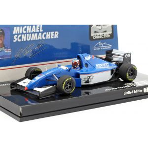 Michael Schumacher Ligier JS39B Test Estoril Formula 1 1994 1/43