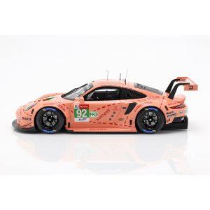Porsche 911 RSR #92 Klassensieger LMGTE Pink Pig 24h Le Mans 2018 1:18