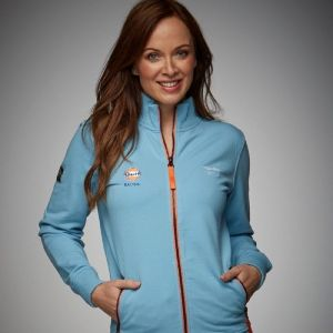 Gulf Damen Sweatjacke Smart Racing gulf blue