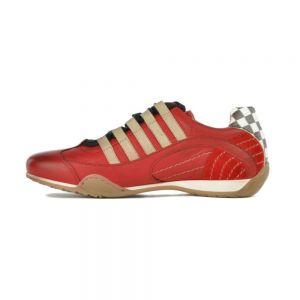 Sneaker Gulf Racing da donna in Corso Rosso