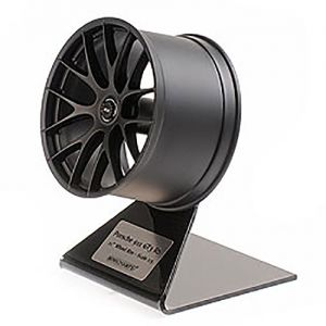Porsche 911 GT3 RS Wheel Rim Satin Black 1/5