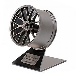 Porsche 911 GT3 RS Wheel Rim Satin Platinum 1/5