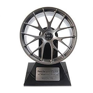 Porsche 911 GT3 RS Cerchio della Ruota Satin Platino 1/5