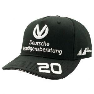 Mick Schumacher Cap 2020 schwarz