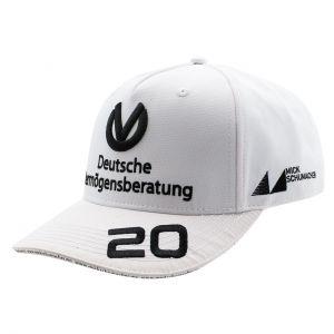 Mick Schumacher Gorra 2020 blanco