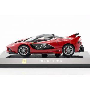 Ferrari FXX K #88 Année de construction 2014 rouge / noir 1/43