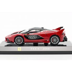 Ferrari FXX K #88 Year of construction 2014 red / black 1/43