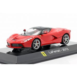 Ferrari LaFerrari Year of construction 2013 red / black 1/43