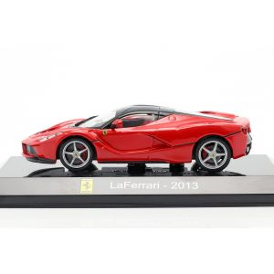Ferrari LaFerrari Year of construction 2013 red / black 1/43