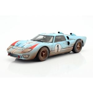 Ford GT40 MK II Dirty Version #1 2nd 24h LeMans 1966 1:18