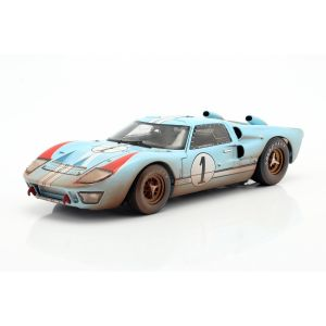 Ford GT40 MK II Dirty Version #1 2nd 24h LeMans 1966 1/18