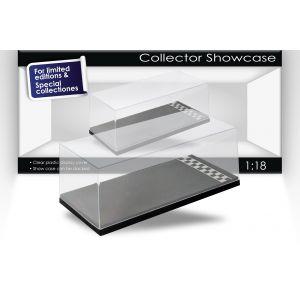 Single showcase with start/finish line scale 1/18