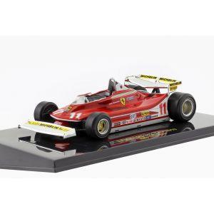 Jody Scheckter Ferrari 312 T4 #11 Champion du monde de Formule 1 1979 1/43