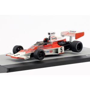 Emerson Fittipaldi McLaren M23 #5 Champion du monde F1 Espagne GP 1974 1/43
