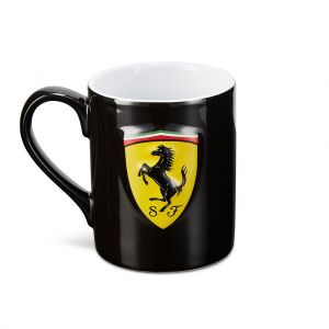 Scuderia Ferrari Cup Scudetto Shield black
