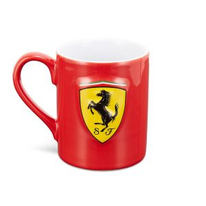Scuderia Ferrari Cup Scudetto Shield red