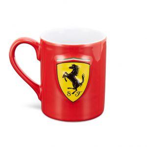 Scuderia Ferrari Taza Scudetto Shield rojo