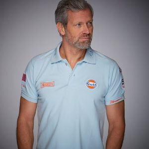 Gulf Michael Delaney Polo bleu gulf