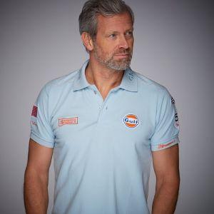 Gulf Michael Delaney Poloshirt gulf blau
