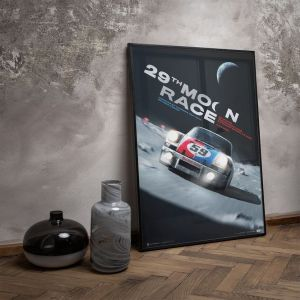 Cartel Porsche 911 Carrera RSR - 29th Moon Race - 2078