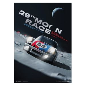 Poster Porsche 911 Carrera RSR - 29th Moon Race - 2078