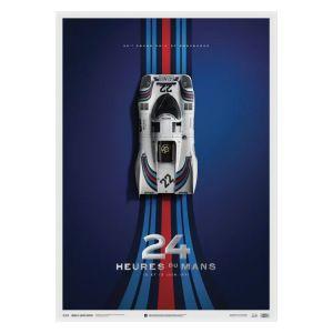 Cartel Porsche 917 - Martini - 24h Le Mans - 1971