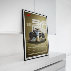 Poster Formel 1 Jahrzente - 2020er Jahre Die Zukunft Liegt Vor Uns
