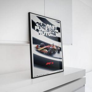 Poster Formel 1 - Unsere Vergangenheit treibt unsere Zukunft an - 70. Jubiläum