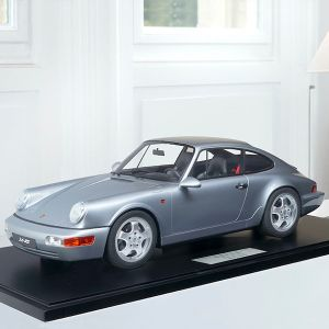 Porsche 911 (964) Carrera RS - 1994 - Silver metallic 1/18