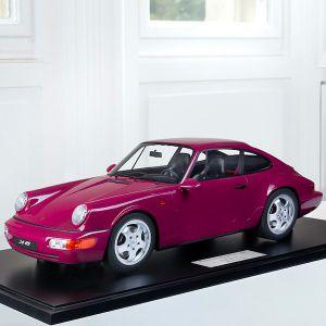 Porsche 911 (964) Carrera RS - 1994 - Rouge rubis 1/8