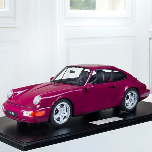 Porsche 911 (964) Carrera RS - 1994 - Ruby red 1/8