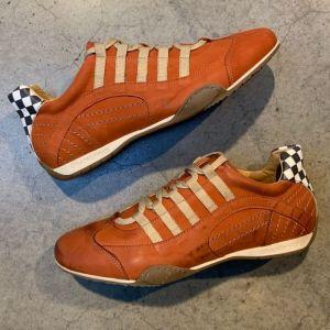 Gulf Racing Sneaker Vintage Naranja