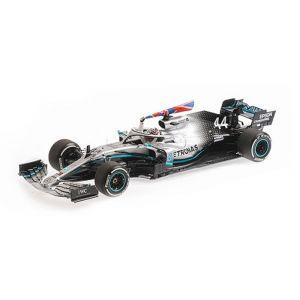 Mercedes-AMG Petronas Motorsport F1 W10 EQ Power - Lewis Hamilton - Ganador del GP de Gran Bretaña 2019 1/18