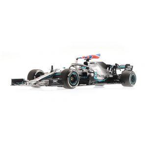 Lewis Hamilton - Mercedes-AMG Petronas Motorsport F1 W10 EQ Power - Ganador del GP de Gran Bretaña 2019 1/18
