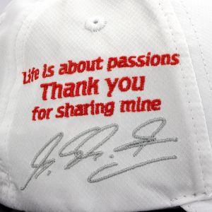 Gorra Personal Michael Schumacher GP de Brasil 2012 Edición final