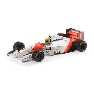 McLaren Ford MP4/8 - Ayrton Senna - Gewinner Europa GP 1993 1:18