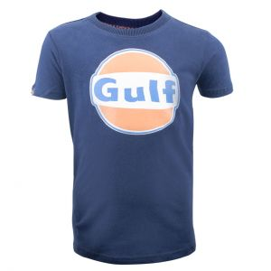 Gulf T-Shirt Dry-T Children navy blue