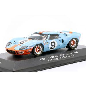 Ford GT40 Gulf #9 Sieger 24h LeMans 1968 Rodriguez, Bianchi 1:43