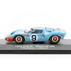 Ford GT40 Gulf #9 vincitore 24h LeMans 1968 Rodriguez, Bianchi 1/43
