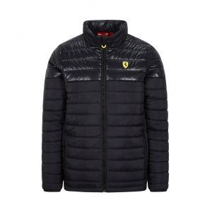 Scuderia Ferrari Chaqueta acolchada negra