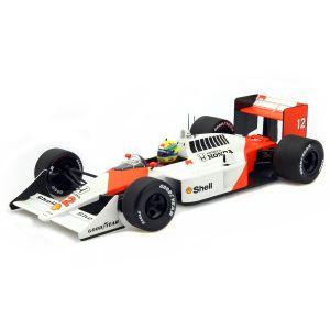 Ayrton Senna McLaren MP4/4 Minichamps 1/18
