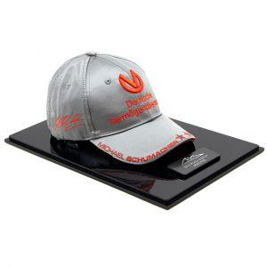 Michael Schumacher Personal Cap 300. GP 2012 Edición Platino