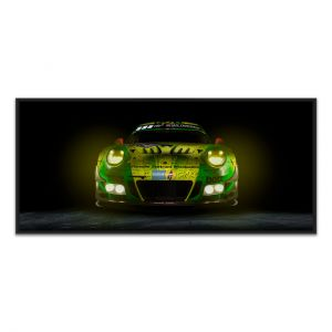 Manthey-Racing Art Print - Porsche 911 GT3 R Grello 24h Voiture Gagnante 2018 Front