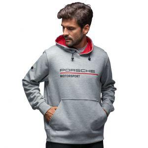 Porsche Motorsport Sweat à capuche gris