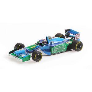 Benetton Ford B194 - Jos Verstappen - Belgian GP 1994 1/43