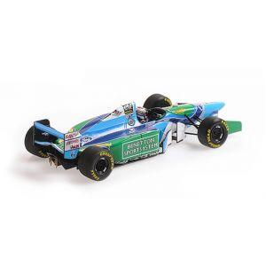 Jos Verstappen - Benetton Ford B194 - Belgien GP 1994 1:43