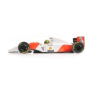 McLaren Ford MP4/8 - Ayrton Senna - Vincitore Giappone GP 1993 1/18
