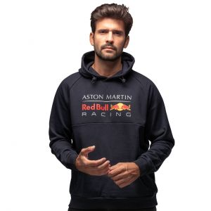 Red Bull Racing Sweat à capuche bleu marine