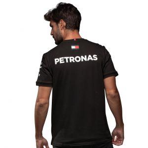 Mercedes-AMG Petronas Team Sponsor Camiseta negra