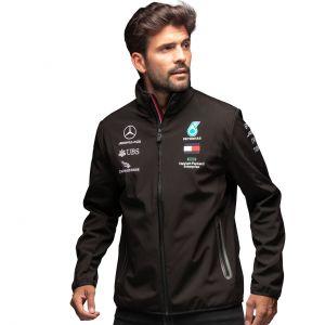 Mercedes-AMG Petronas Team Chaqueta softshell negra